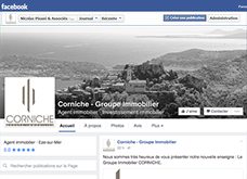 Facebook Groupe CORNICHE Immobilier